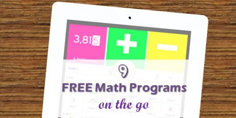 9 free math programs for kids available on iPad