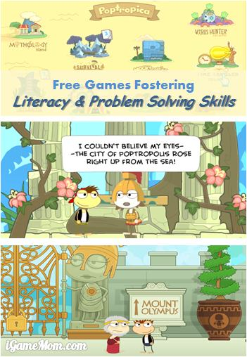 Free Game for Literacy and Problem Solving Skills