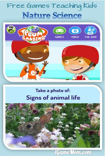Free Games Teaching Kids Nature and Life Science