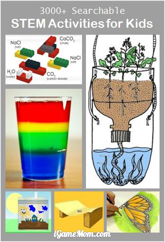 Over 3000 searchable STEM (science technology engineer math) activities for kids from preschool to high school - compiled by top science museums in the US. All are FREE, can be accessed on computer or mobile devices via the free app.