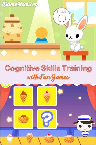 train cognitive skills with fun games