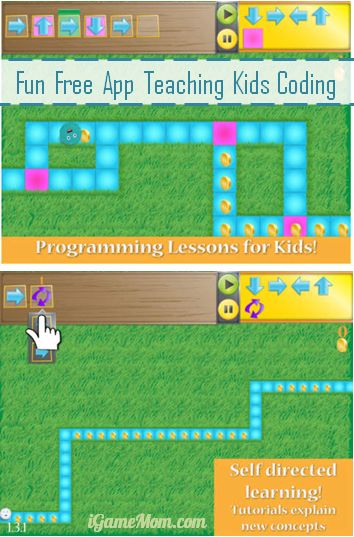 Fun Free App Teaching Kids Coding