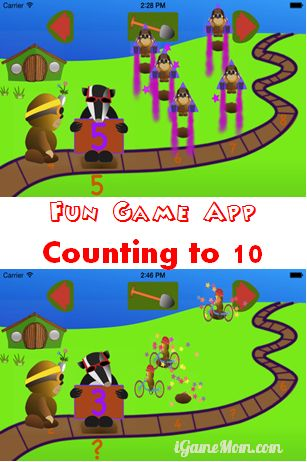 Fun Game App Counting to Ten