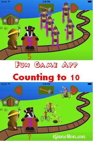 Fun Game App Counting to Ten