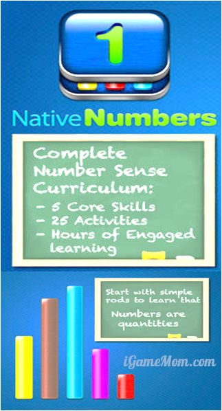Gain real number sense with native numbers app
