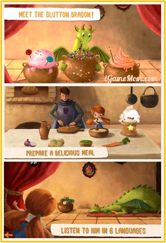 Interactive Story Book Teaching Healthy Eating