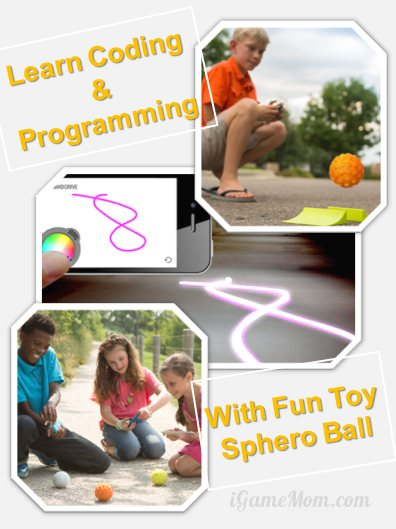 Learn coding and programming with fun toy sphero ball