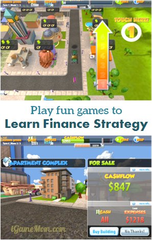 Learn finance and strategy with games