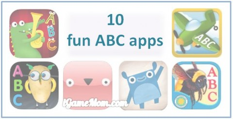 fun ABC apps for kids to learn alphabet