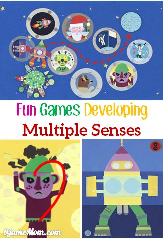 fun kids game app developing multiple senses