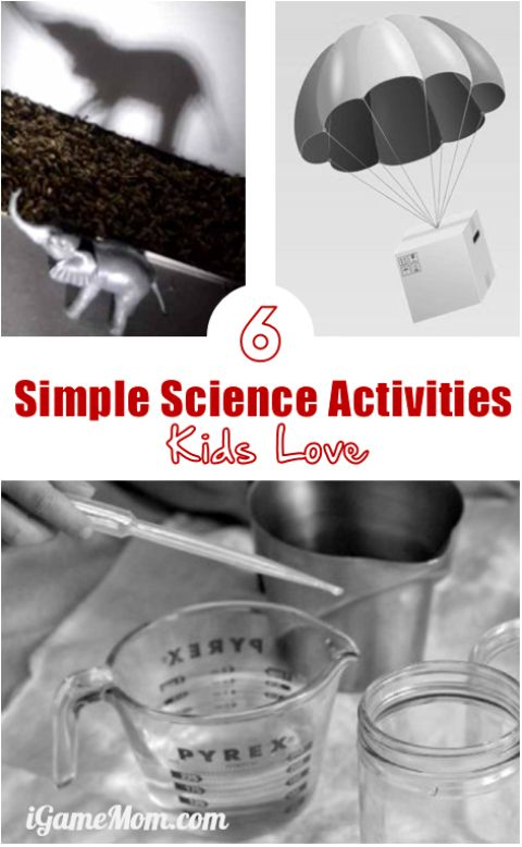 Simple science activities kids love - Learning STEM doesn't need fancy equipment, you can have many fun learning with easy activities at home