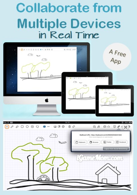 Collaborate from Multiple Devices in Real Time - A Free App