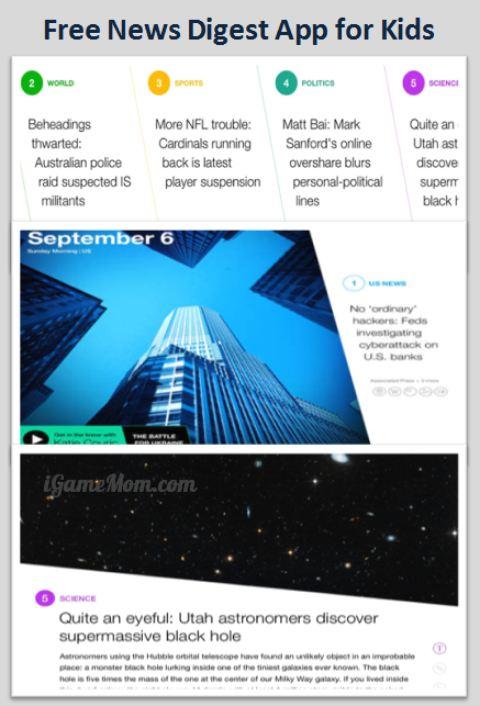 Free Yahoo News Digest App