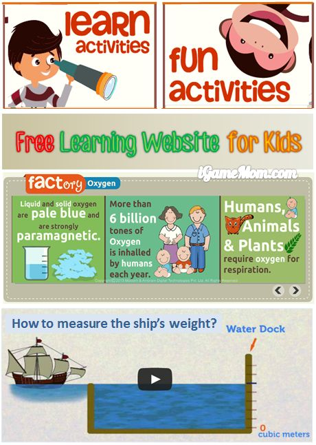 Free learning website for kids - math language science history geography and more