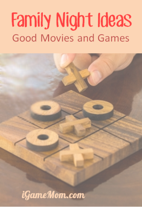 Good Family Night Ideas Movies and Games for Everyone