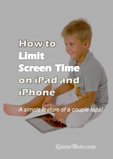 How to set screen time limits on iPhone iPad