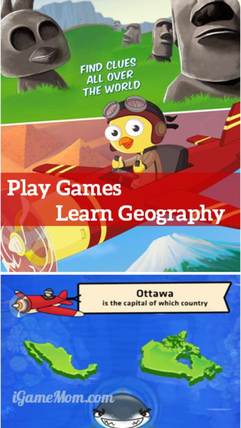 Play Games Learn Geography - Tiny Countries App