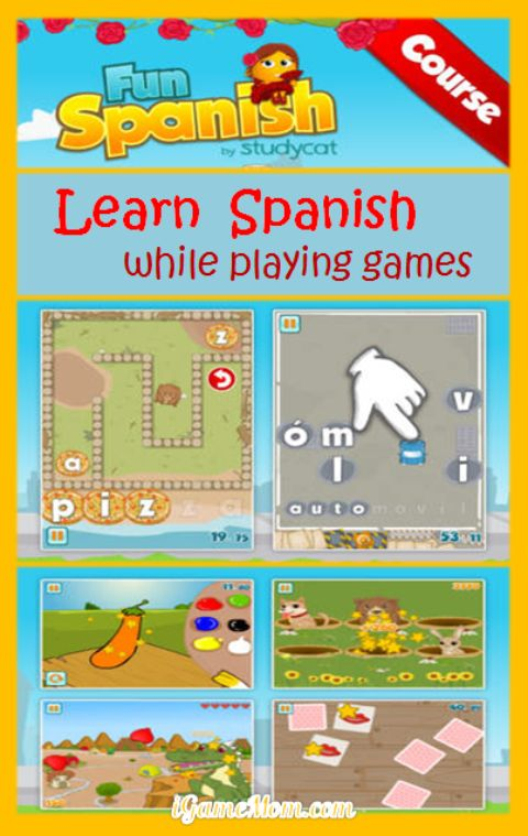 Play Games to Learn Spanish - Fun Language App for Kids