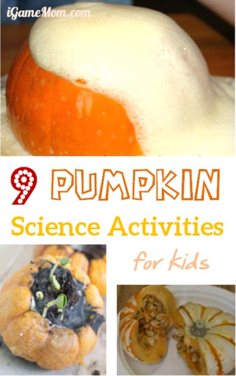 pumpkin science experiments for kids