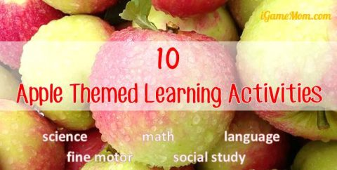apple themed learning activities