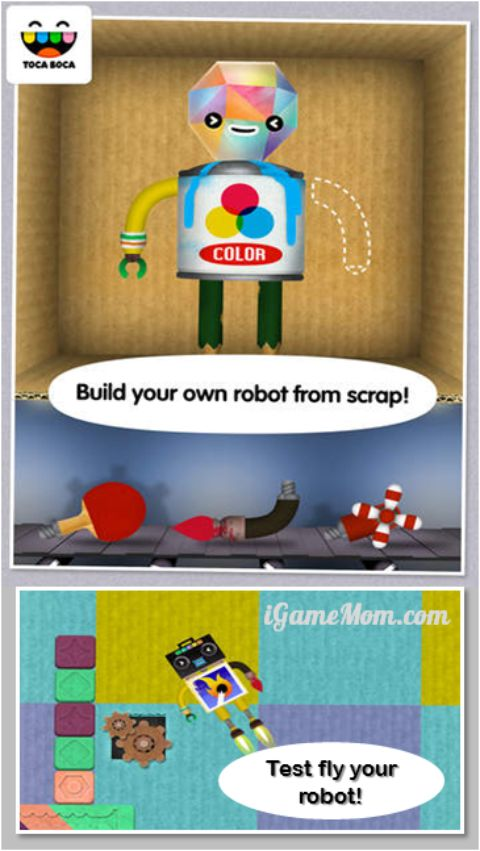 build and play with robots