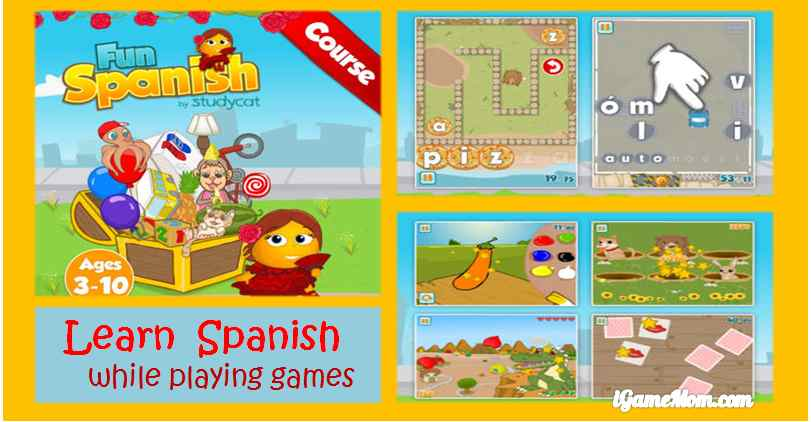 Play Fun Games to Learn Spanish - Fun Spanish App for Young Children
