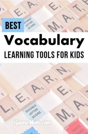 Best Vocabulary Learning Tools for Kids
