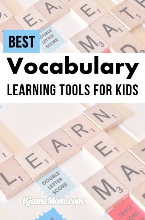 Best Vocabulary Learning Tools for Kids, interactive activities, games, learning strategies for spelling, definition, pronunciation, and usage within context