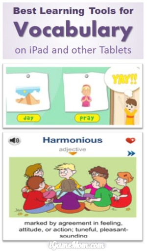 Best Vocabulary Learning Tools on iPad and Other Tablet