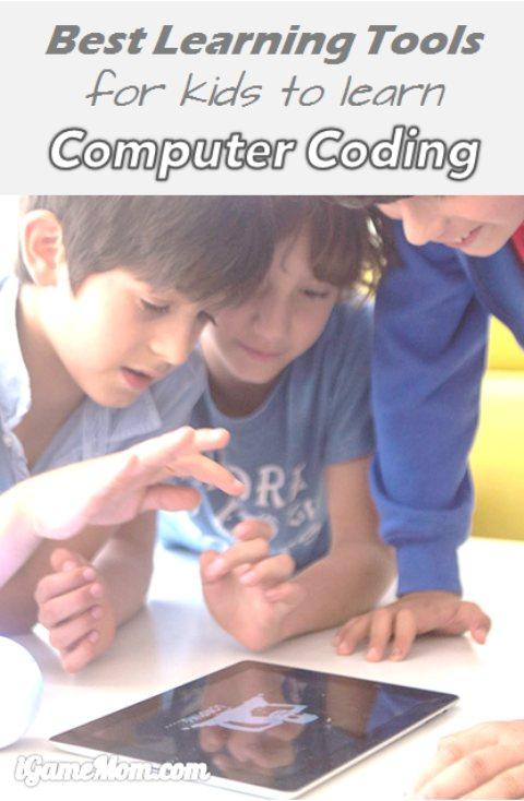 Best computer coding learning tools for kids on iPad other tablet