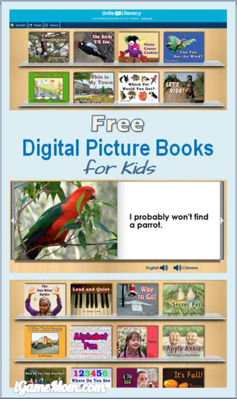 Free Digital Picture Books for Kids