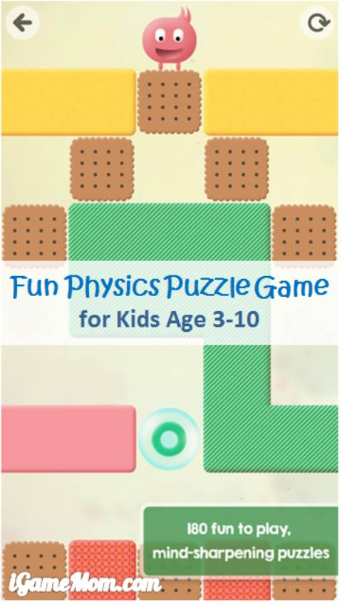Fun Physics Puzzle Game for Young Children
