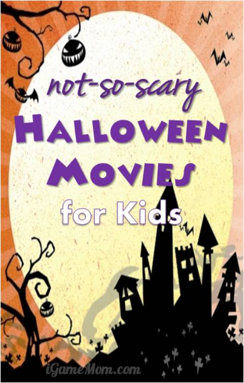 Halloween Movies for kids not Scary