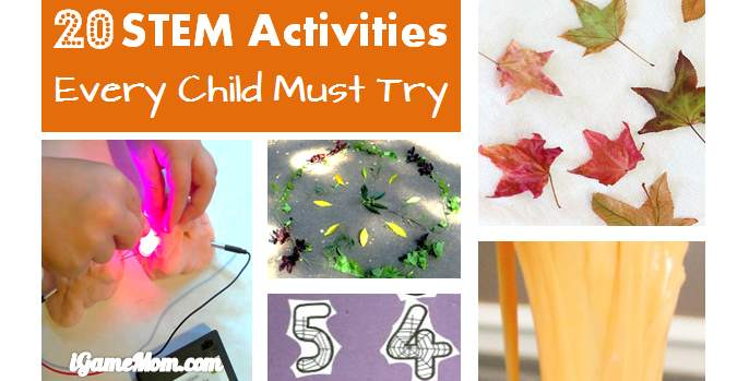 STEM activities for Kids Every Child Must Try This Fall