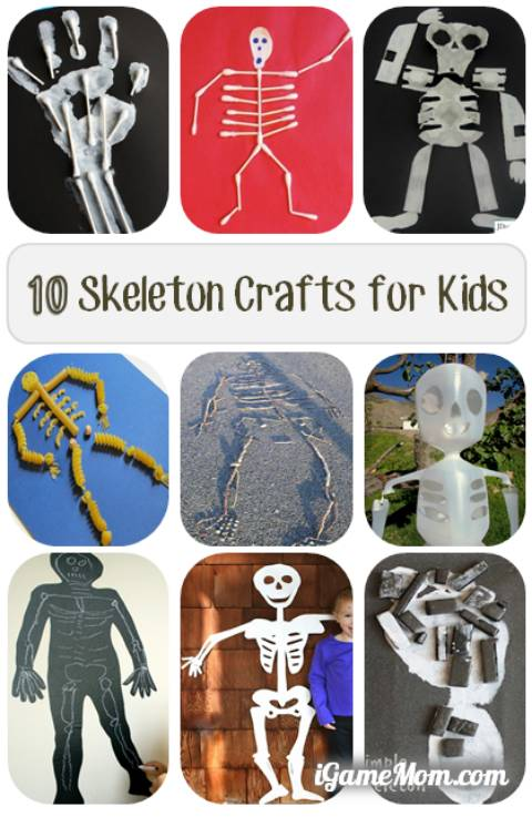 Human Body Crafts for Kids Activities