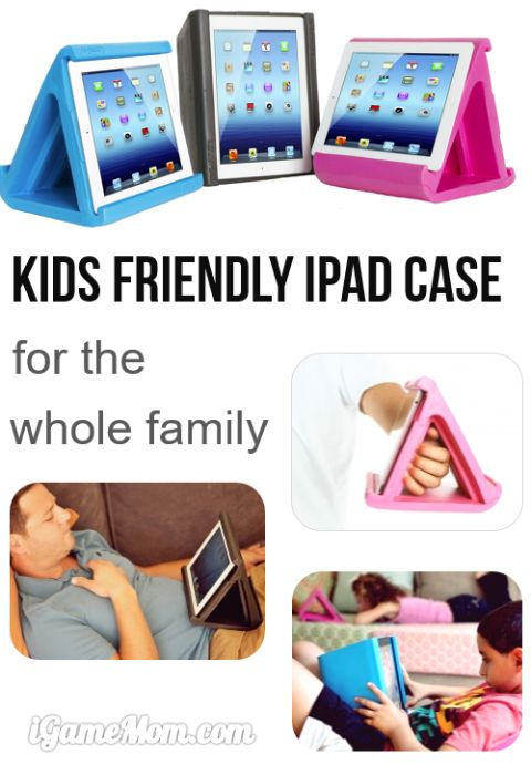 kids safe family friendly iPad Case