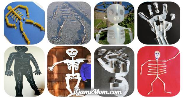 10 Kids Skeleton Crafts To Learn About Human Body