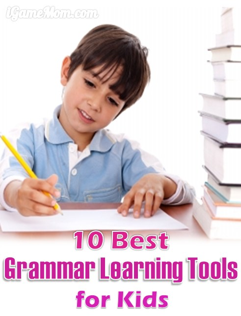 Best Grammar Learning Tools for Kids iPad Tablets