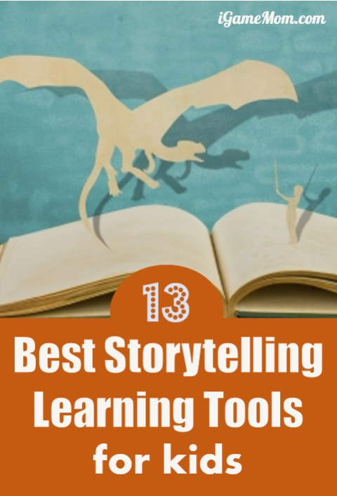 Best Storytelling Learning Tools for Kids, from story structure, to story prompt, to story creating tools (drawing, writing), to idea and material organization tools. You will find many refreshing ways of teaching storytelling with fun interactive activities.