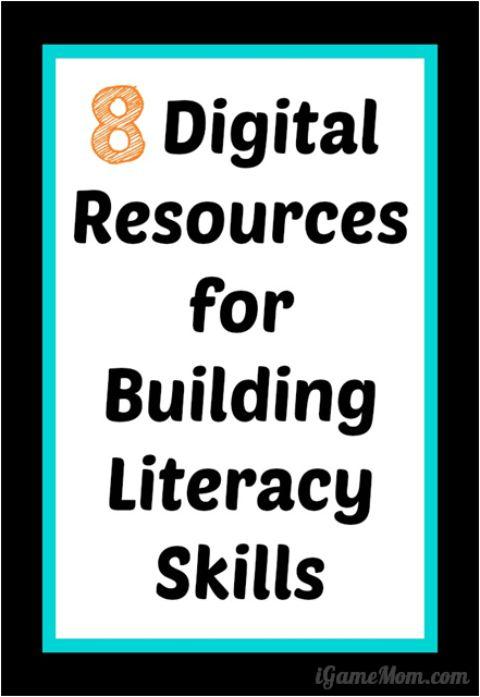 Digital Literacy Ideas - Apps eBooks Websites