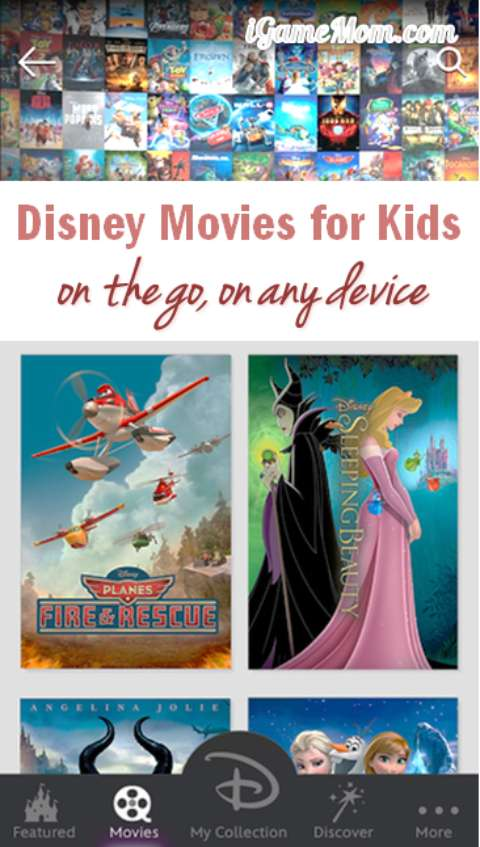 Disney Movies for Kids Anywhere Any Device - Free App