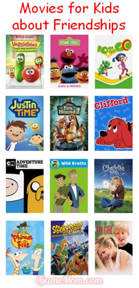 Educational movies for kids about friendships, great for kids movie nights, kids movie parties, or sleepover parties. They are also great for family night.
