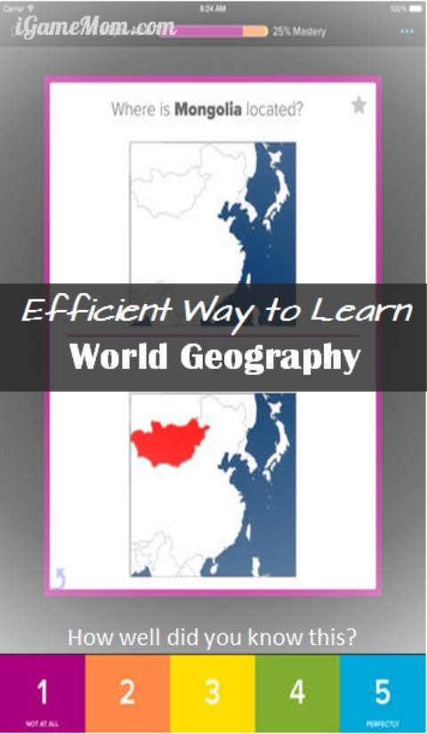 Free App Learn World Geography Efficiently