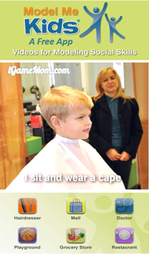 Free app teaching kids social skills with videos