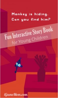 Fun Interactive Story Book App for Young Children