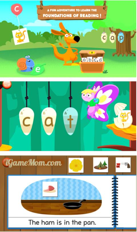 Joy of reading - preschool kindergarten reading app
