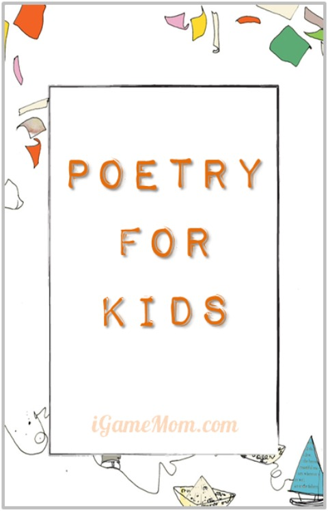 Poetry for Kids on iGameMom