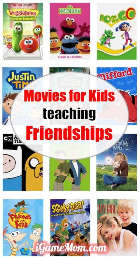 Fun movies for kids about friendships, great for kids movie nights, kids movie parties, or sleepover parties. They are also great for family night.
