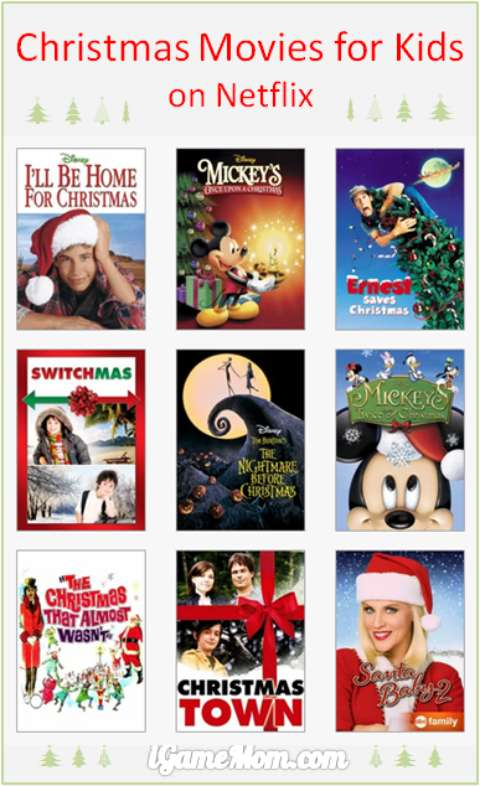 Christmas movies for kids on Netflix -- we keep the holiday movie list kids friendly, so that the whole family can enjoy the season at home together.