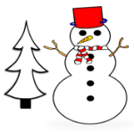 400+ Free Christmas Themed Learning Printables for Kids post image